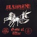 """T Shirt Blasphemy - """" Gods Of War """""""