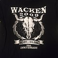 "T Shirt WACKEN - "" 20 Years Louder Than Hell 2009 """