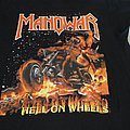"T Shirt Manowar - "" Hell On Wheels """