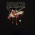 "T Shirt Razor - "" Violent Restitution """