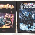 Dissection - Storm of the Lights Bane and HammerFall - Crimson Thunder Backpatch