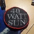 40 Watt Sun - Logo Patch (Handmade)