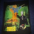 Toxik - World Circus Backpatch