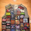 Battle Jacket Back and Front