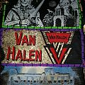 Van Halen - Woven Logo Patch purple border