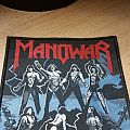 Manowar - Fighting the world - Original Patch