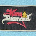 King Diamond rubber patch