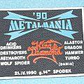 Metalmania 90 rubber patch