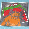 Metallica - Kill ´em all rubber patch