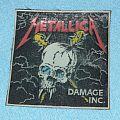 Metallica - Damage inc. rubber patch