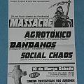 Bandanos, Social Chaos, Agrotóxico, Masaacre_poster Other Collectable