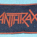 Anthrax rubber patch
