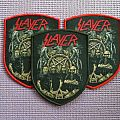 Slayer shield woven patches !!