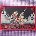 Heavy Load woven available. Patch