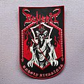 Beherit back patch full woven!!