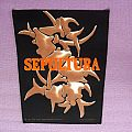 Sepultura back patch for you!!