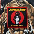 Annihilator Alice in Hell woven patches !!