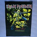 IRON MAIDEN Piece Of Mind back patch !!
