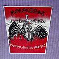 Holocaust - Patch - Holocaust Heavy Metal Mania back patch