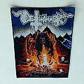 Deathhammer -Evil Power back patch black border!!