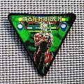 Iron Maiden 'Somewhere on Tour' triangular patch!!