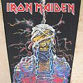 Iron Maiden back patch WST !!