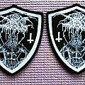 Darkthrone shield woven patches!!