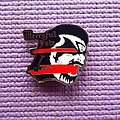 Mercyful King metal pin !! Pin / Badge