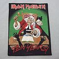 Iron Maiden back patch!!