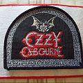 Ozzy Osbourne patch  !!