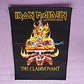 IRON MAIDEN The Clairvoyant back patch !!