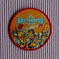 Bolt Thrower circle patch.