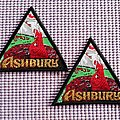 Ashbury patches woven