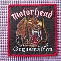 Motörhead Orgasmatron Woven patch !!
