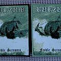 Burzum patchwoven Feeble Screams!