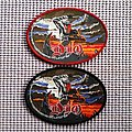 Dio Holy Diver oval woven! Patch