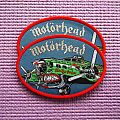 MOTORHEAD oval patch (red border).