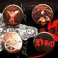 Desaster - Other Collectable - Desaster, Bulldozer, Carcass, Dio buttons for trade !!