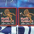 Iron Maiden Killer tour 1981 patch!!