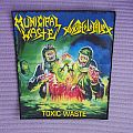 Municipal Waste, Toxic Holocaust back patch !!