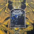 King Diamond Abigail woven patch silver!!