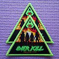Overkill Feel the Fire Patch green border