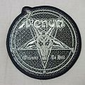 Venom Welcome to Hell snakeskin Patch