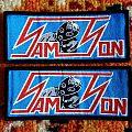 Samson woven patches!!