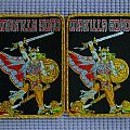 """Manilla Road """"Mark Of The Beast"""" Woven Patch"""