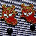 Mercyful Fate golden metal pin !! Pin / Badge