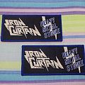 Iron Curtain - Patch - Iron Curtain woven patch !!