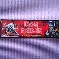 """Iron Maiden """"A Real Live \ Dean One"""" patch !!"""