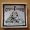 Crucifixion patch