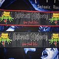 ONLY FOR REVIEW!!! Infernal Majesty strip woven patches for Reichhart666